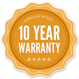 10 year roofing warranty